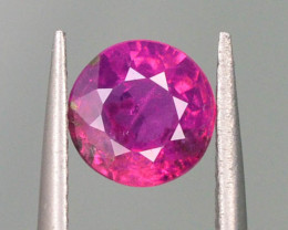 0.65 ct Natural Ruby ~ Jagdalek Afghanistan