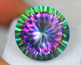 29.51ct Mystic Topaz Round Cut Lot D26