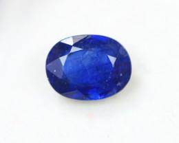2.86Ct Blue Gemstone Sapphire Oval Cut Lot LZ2727