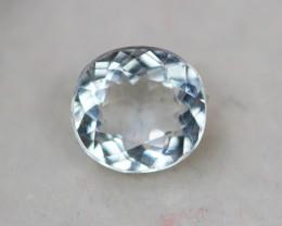 1.03Ct Blue Gemstone Aquamarine Oval Cut Lot Z369