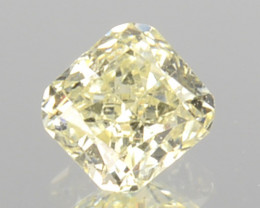 ~UNTREATED~ 0.17 Cts Natural Fancy Diamond Fancy Square Cut Africa