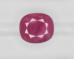 Ruby, 29.40ct - Mined in Guinea | Certified by GII
