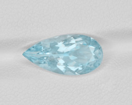Aquamarine, 2.63ct - Mined in India | Certified by IGI
