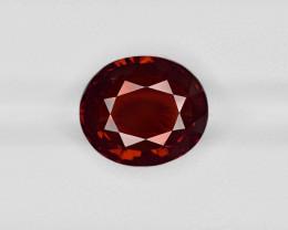 Hessonite Garnet, 8.90ct - Mined in Sri Lanka | Certified by IGI
