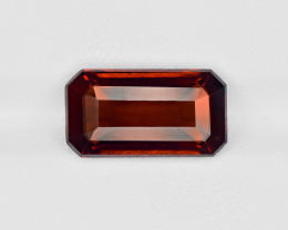Hessonite Garnet, 6.54ct - Mined in Sri Lanka | Certified by IGI