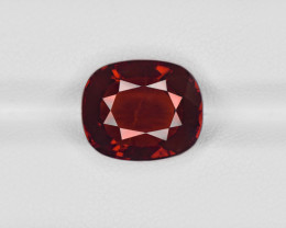 Hessonite Garnet, 8.01ct - Mined in Sri Lanka | Certified by IGI