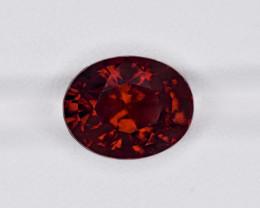 Hessonite Garnet, 8.15ct - Mined in Sri Lanka | Certified by IGI