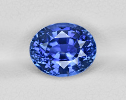 Blue Sapphire, 4.27ct - Mined in Sri Lanka | Certified by GIA & GII