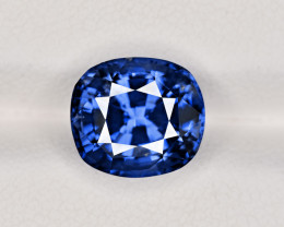 Blue Sapphire, 6.12ct - Mined in Madagascar | Certified by GRS