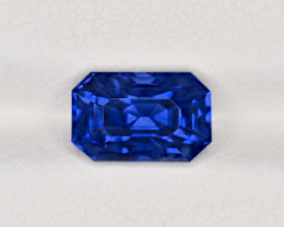 Blue Sapphire, 4.04ct - Mined in Madagascar | Certified by GRS