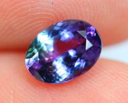 1.30cts Violet Blue D Block Tanzanite / EB37