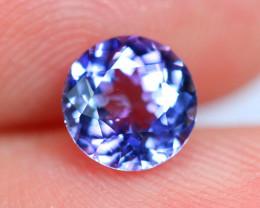 1.10cts Violet Blue D Block Tanzanite / EB38