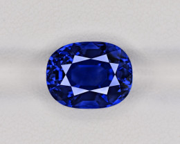 Blue Sapphire, 7.29ct - Mined in Burma | Certified by GRS