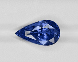Blue Sapphire, 10.08ct - Mined in Madagascar | Certified by GIA & Lotus