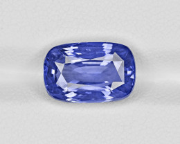 Blue Sapphire, 6.22ct - Mined in Sri Lanka | Certified by GRS
