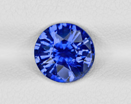 Blue Sapphire, 2.01ct - Mined in Sri Lanka | Certified by GRS