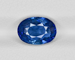 Blue Sapphire, 3.01ct - Mined in Sri Lanka | Certified by GRS
