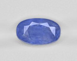Blue Sapphire, 5.71ct - Mined in Sri Lanka | Certified by GRS