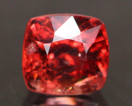Spinel 1.06Ct Natural Burmese Mogok Vivid Red Mahenge Spinel C3011