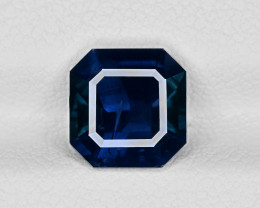 Blue Sapphire, 2.83ct - Mined in Sri Lanka | Certified by GRS