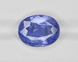 Blue Sapphire, 9.69ct - Mined in Madagascar   Certified by GIA