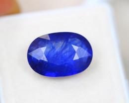 8.33ct Blue Sapphire Oval Cut Lot V4475