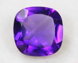 2.44ct Purple Amethyst Cushion Cut Lot V4479