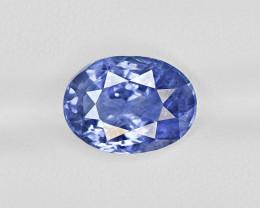 Blue Sapphire, 7.62ct - Mined in Sri Lanka   Certified by GRS