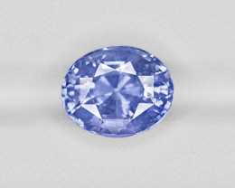 Blue Sapphire, 9.39ct - Mined in Sri Lanka | Certified by GRS