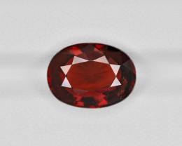 Hessonite Garnet, 7.63ct - Mined in Sri Lanka | Certified by IGI