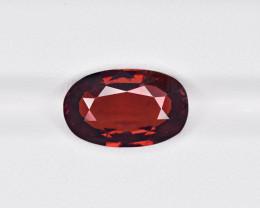 Hessonite Garnet, 6.50ct - Mined in Sri Lanka   Certified by IGI