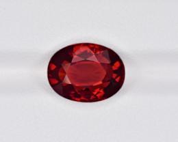 Hessonite Garnet, 6.37ct - Mined in Sri Lanka | Certified by IGI