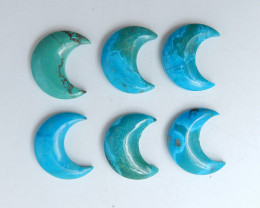 55.5cts Lucky Turquoise ,Handmade Gemstone ,Turquoise Cabochons ,Lucky Ston
