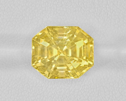 Yellow Sapphire, 10.89ct - Mined in Sri Lanka | Certified by GIA