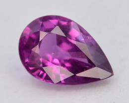 Rare 1.30 ct Grape Garnet one of a Kind Fire Mozambique