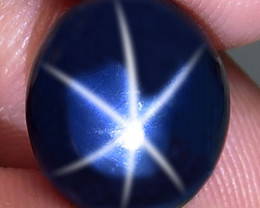 10.69 Southeast Asian Blue Star Sapphire - Gorgeous