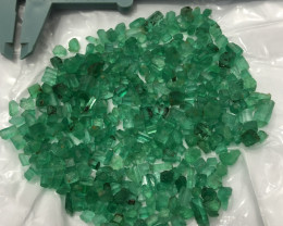 Natural 500 Carats Faceted Grade Emerald From Panjsher Afghanistan.