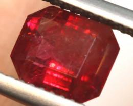 RED BERYL UTAH   1.74 CTS VIOLET CLAIM TMB-1797