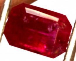 RED BERYL UTAH   1.06  CTS VIOLET CLAIM TBM-1798
