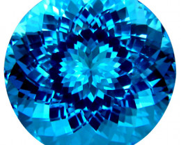44.40 ct.100% Natural Earth Mined Top Quality Blue Topaz Brazil