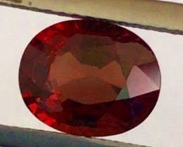 Pretty 2.10 Bright Deep Red Spinel - Burma  G609