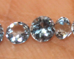 0.50 Crt Untreated Natural Aquamarine Loose Gemstone 11