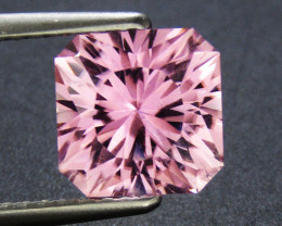 Pink Tourmaline 2.08 ct Custom Cut Tourmaline Gemstone