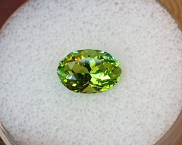 Private auction, no bids please!!! 2,96ct Apple green Tourmaline - Master c