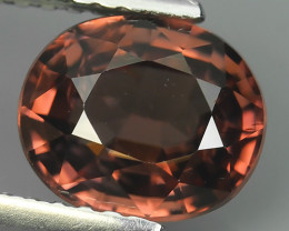 2.10 CTS AWESOME NICE OVAL-NATURAL  ZIRCON FACET GENUINE!!