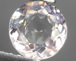 SPARKLING NATURAL RARE SOFT WHITE PINK TOURMALINE MOZAMBIQUE GEM