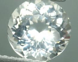 2.00 Cts - Sparkling Luster -7.80 mm Round Gem - Natural Fine White Beryl!!