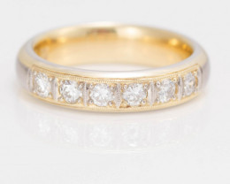 14 kt Solid Gold - Ring  0.57 ct Diamond  - New Jewelry