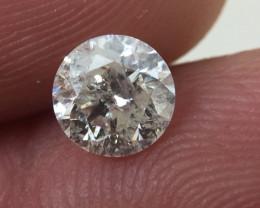 (B1) Brilliant $1478 IGL Certified 0.78ct. Round White Diamond