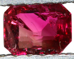 0.31 CTS  CERTIFIED RED BERYL-RED EMERALD RARE COLLECTOR PC TBM-1794